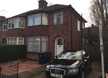 Thumbnail 3 bed semi-detached house to rent in Booth Road, Colindale