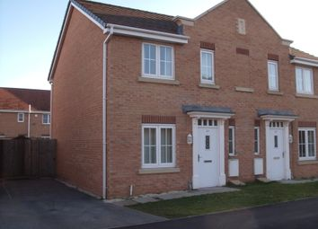 Thumbnail 2 bed semi-detached house to rent in Sargeson Road, Armthorpe, Doncaster