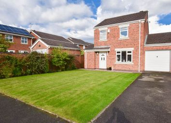 Thumbnail 3 bed detached house for sale in Bridgewater Close, Congleton