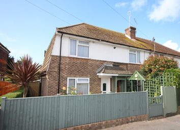 Thumbnail 2 bed end terrace house to rent in Worthing Road, Rustington