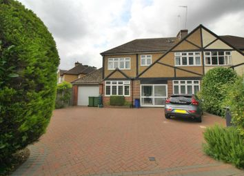 Thumbnail 5 bedroom semi-detached house for sale in Great Cambridge Road, Cheshunt, Herts