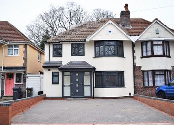 Thumbnail 4 bed semi-detached house for sale in Olton Boulevard East, Acocks Green, Birmingham
