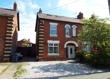 Thumbnail 4 bed semi-detached house for sale in Coppice Road, Willaston, Nantwich, Cheshire