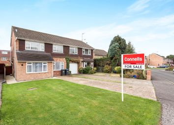 Thumbnail 4 bed semi-detached house for sale in Oak Close, Copthorne, Crawley