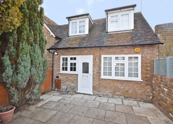 Thumbnail 1 bed semi-detached house to rent in Saddlers Walk, High Street, Kings Langley