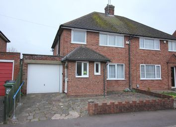 Thumbnail 3 bed semi-detached house for sale in Rosslyn Crescent, Luton, Bedfordshire