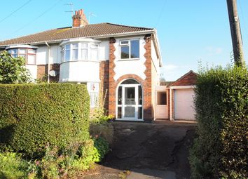 Thumbnail 3 bed semi-detached house for sale in Evington Lane, Leicester