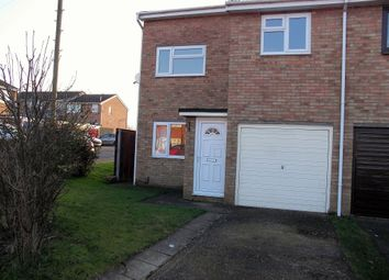 Thumbnail 3 bedroom semi-detached house to rent in Green How, St. Ives, Huntingdon