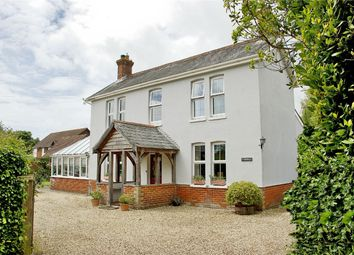 Thumbnail 5 bed detached house for sale in Bashley Common Road, Bashley, New Milton