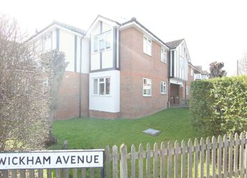 Thumbnail 2 bed flat for sale in Wickham Avenue, North Cheam, Sutton