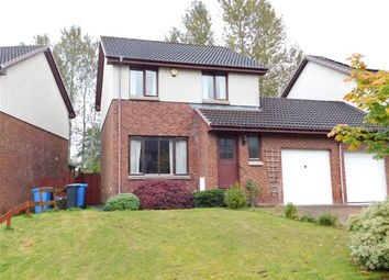 Thumbnail 3 bed link-detached house to rent in Kaims Brae, Livingston Village, Livingston