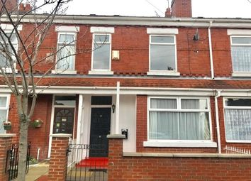 Thumbnail 3 bed terraced house to rent in Taylors Road, Stretford, Manchester