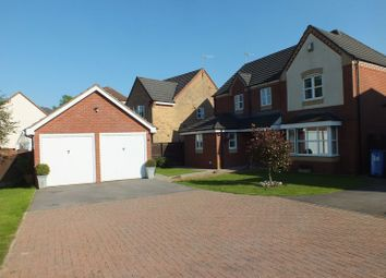 Thumbnail 4 bedroom detached house for sale in Blackbird Way, Packmoor, Stoke-On-Trent