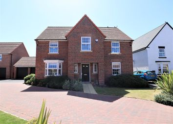 Thumbnail 4 bed detached house for sale in Severus Crescent, North Hykeham, Lincoln