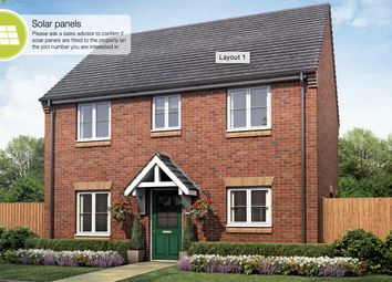 Thumbnail 4 bed detached house for sale in Whitecross, Coates Road, Eastrea, Whittlesey, Peterborough