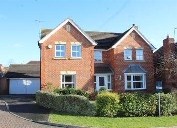 Thumbnail 4 bedroom detached house for sale in Malus Close, Hampton Hargate, Peterborough