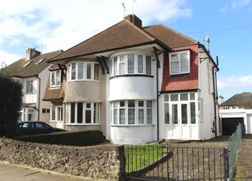 Thumbnail 3 bedroom semi-detached house for sale in Lifstan Way, Southend-On-Sea