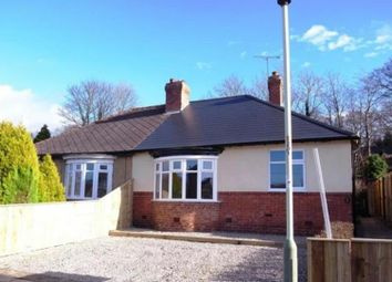 Thumbnail 2 bed semi-detached bungalow for sale in Belgrave Terrace, Hurworth Place, Darlington