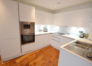 Thumbnail 3 bed flat for sale in Titan Court, 1 Flower Lane, London