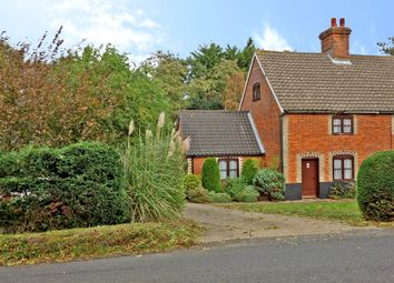 Thumbnail 2 bed semi-detached house for sale in Harleston Road, Linstead, Halesworth