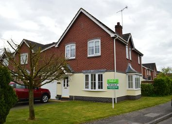 Thumbnail 3 bedroom detached house for sale in Priors Lane, Market Drayton