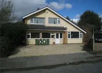 Thumbnail 4 bedroom detached house for sale in Sparkenhoe, Croft, Leicester