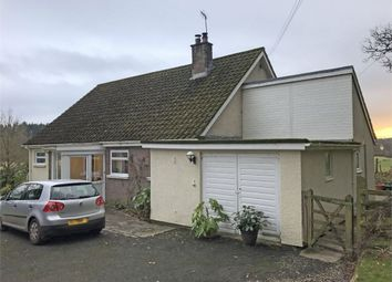 Thumbnail 3 bed detached bungalow for sale in Llanfihangel Brynpabuan, Builth Wells, Powys