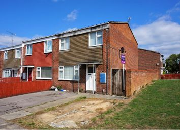 Thumbnail 3 bed end terrace house for sale in Deerhurst Way, Swindon