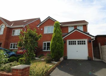 Thumbnail 4 bed detached house for sale in Holly Avenue, Walkden, Manchester
