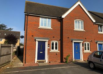 Thumbnail 2 bedroom end terrace house to rent in Avocet Gardens, Stowmarket
