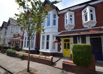 Thumbnail 3 bed terraced house to rent in Stallcourt Avenue, Penylan, Cardiff