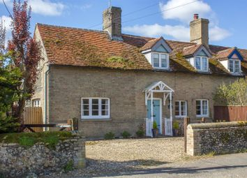 Thumbnail 4 bed cottage for sale in Icklingham Road, West Stow, Bury St. Edmunds