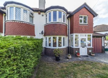 Thumbnail 3 bed semi-detached house for sale in Montague Avenue, South Croydon