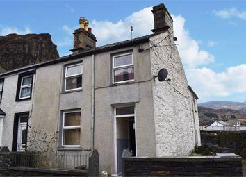 Thumbnail 3 bed end terrace house for sale in Cromwell Street, Blaenau Ffestiniog, Gwynedd