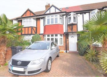 Thumbnail 4 bedroom terraced house to rent in Cardinal Avenue, Kingston Upon Thames