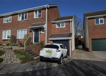 Thumbnail 3 bed semi-detached house for sale in Burleigh Road, Shiphay, Torquay, Devon