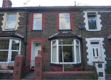Thumbnail 3 bed terraced house for sale in Woodland Terrace, Pontypridd