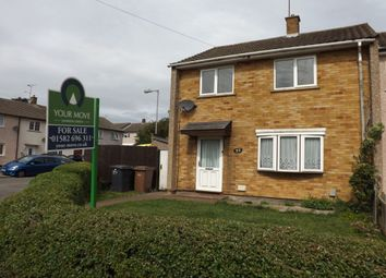 Thumbnail 3 bed terraced house for sale in Drayton Road, Luton
