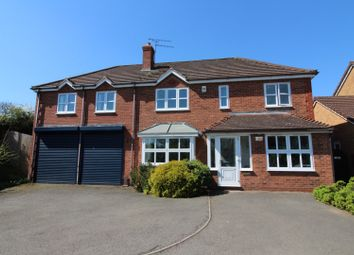 Thumbnail 6 bed detached house for sale in Peart Drive, Studley