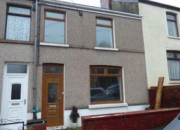 Thumbnail 3 bed terraced house to rent in Exchange Street, Maesteg, Bridgend.