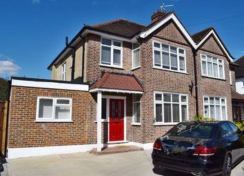Thumbnail 4 bed semi-detached house for sale in College Avenue, Harrow Weald