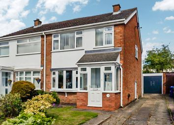 Thumbnail 3 bed semi-detached house for sale in Castle View, Kettlebrook, Tamworth