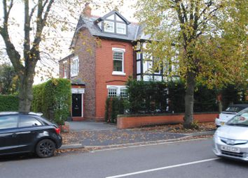 Thumbnail 6 bed detached house for sale in Grappenhall Road, Stockton Heath, Warrington