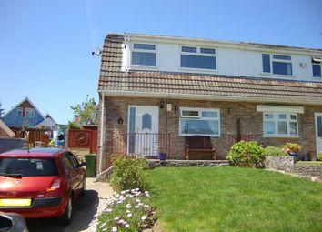 Thumbnail 3 bed semi-detached house for sale in Heol Pen-Y-Foel, Coed-Y-Cwm, Pontypridd
