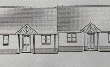 Thumbnail 2 bedroom semi-detached bungalow for sale in Plot 19 The Celtic, Land South Of Kilvelgy Park, Kilgetty, Pembrokeshire
