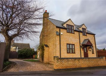 Thumbnail 3 bedroom detached house for sale in Back Lane, Peterborough