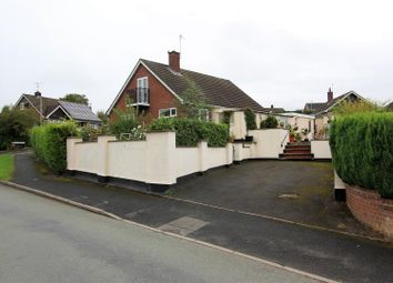 Thumbnail 4 bed detached bungalow for sale in Penygarreg Rise, Pant, Oswestry