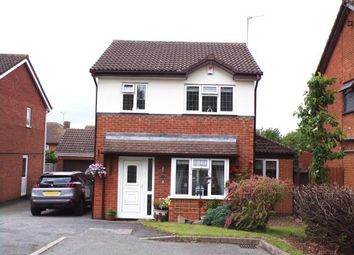 Thumbnail 3 bed detached house for sale in Trojan Way, Syston, Leicester, Leicestershire