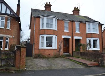 Thumbnail 4 bed semi-detached house for sale in Porchester Road, Newbury, Berkshire