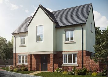 "Thumbnail 4 bed detached house for sale in ""The Wallington"" at St. James Way, Biddenham, Bedford"